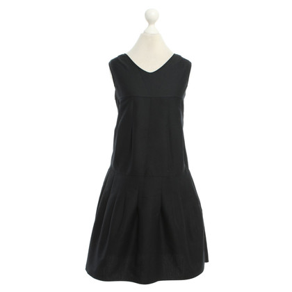 Marni Pleated dress in black