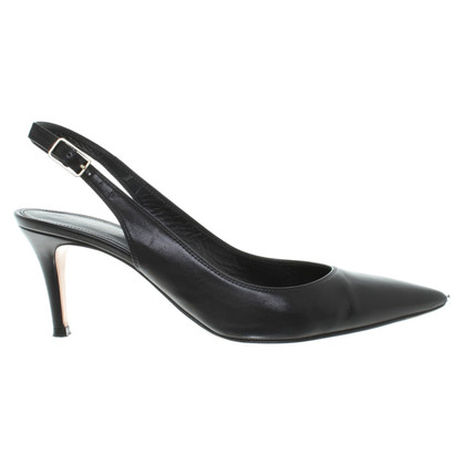 Gianvito Rossi Slingpumps in black
