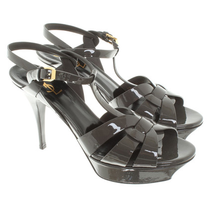 Yves Saint Laurent Sandals in Taupe