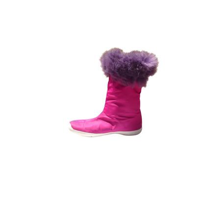 Malo Boots in fuchsia