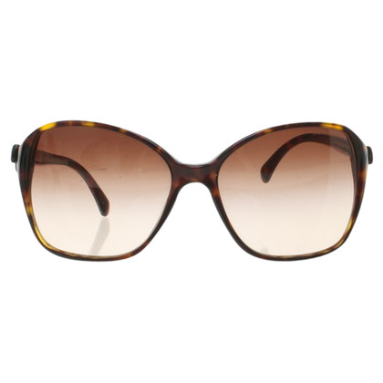 Chanel Zonnebril in Brown