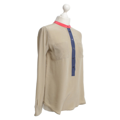 Equipment Bluse in Beige