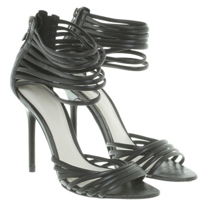 Herve Leger Sandals in black
