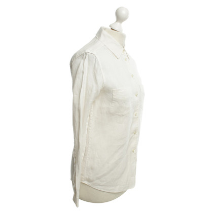 Strenesse Blue Linen blouse in cream