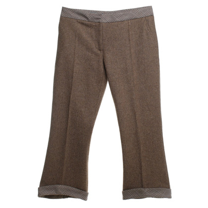 Alexander McQueen trousers with herringbone pattern
