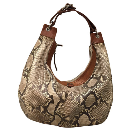 Christian Lacroix shoulder bag python leather