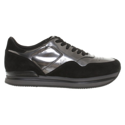 Hogan Sneakers with patent leather details