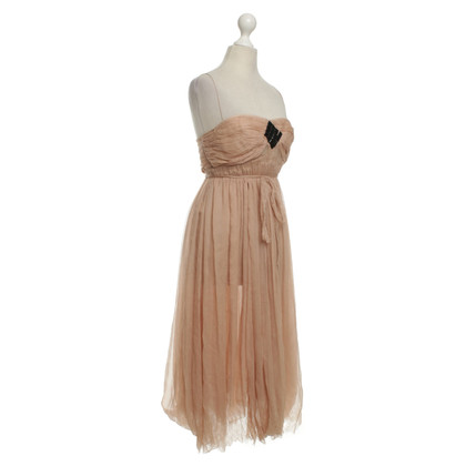 Alessandro Dell'Acqua Dress in Nude