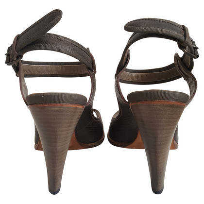 Costume National Sandalen in kaki