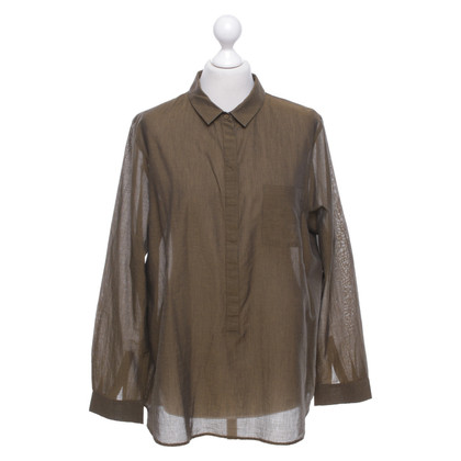 Cos Blouse in olive