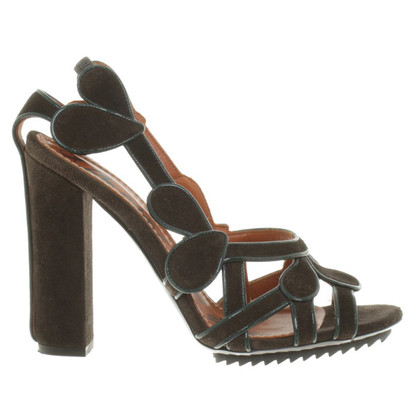 Lanvin Sandals of suede