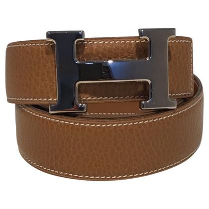 Hermès Gürtel mit H Schließe
