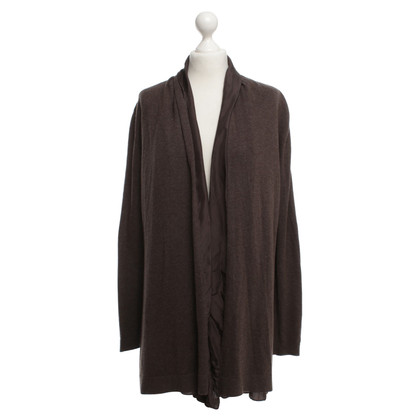 Joe Taft Seta Cardigan in Brown