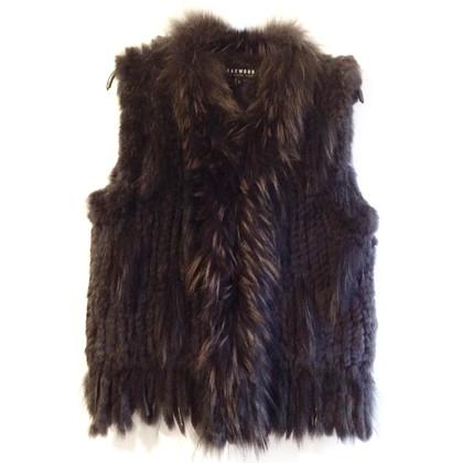 Oakwood Fur vest and dark grey