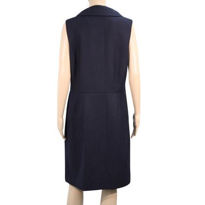 Hobbs Woolen dress in dark blue