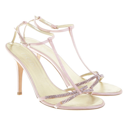 Escada Sandals with gemstones