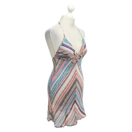 Missoni Gebreide jurk met streeppatroon