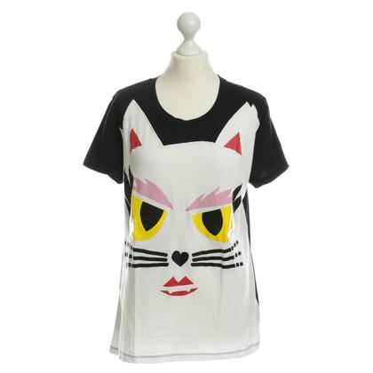 Karl Lagerfeld T-Shirt met motief
