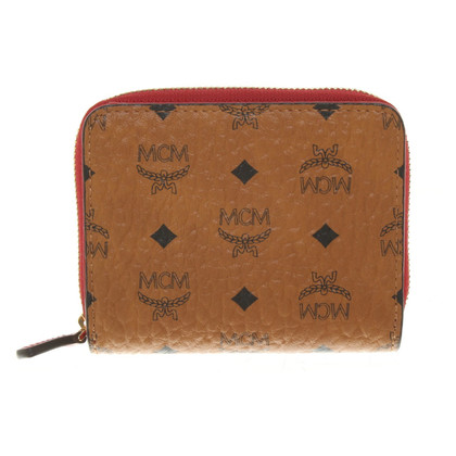 MCM Wallet with monogram