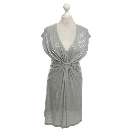 Velvet Lovertjekleding in Gray