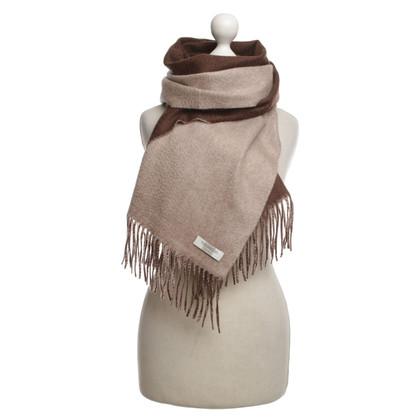 Altre marche Valdoglio - sciarpa in cashmere bicolore