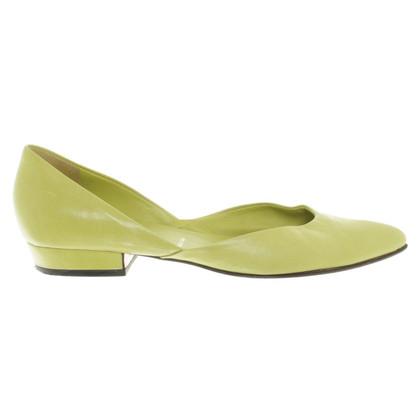 Prada Ballerine in verde brillante