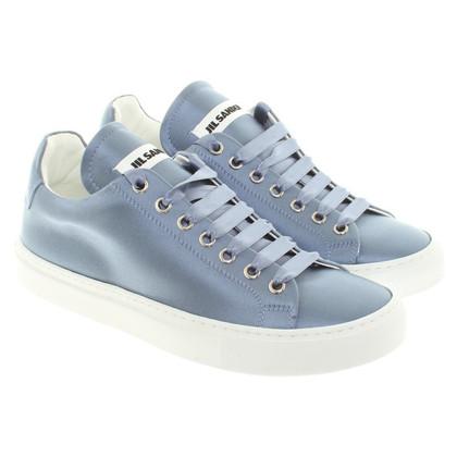 Jil Sander Sneakers in Hellblau