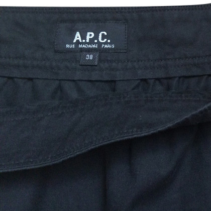 A.P.C. Gonna in nero