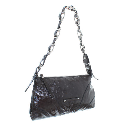 Coccinelle Patent leather handbag in Brown