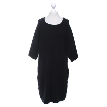 René Lezard vestito maglia in nero