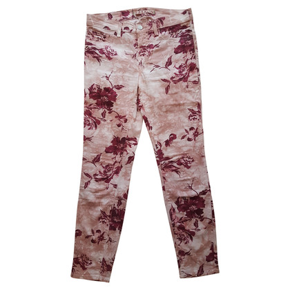 J Brand Capri pants with flower print