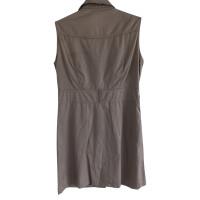 Burberry Ärmelloses Hemdkleid in Beige