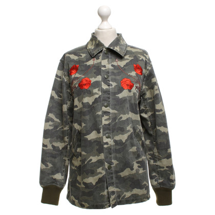 Opening Ceremony Cotton jacket in military style