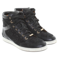 Jimmy Choo Sneakers con pizzi all'uncinetto