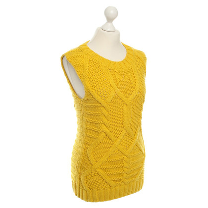 Marc Cain Knit Top in Yellow