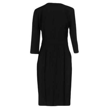 Armani Schwarzes Kleid mit Reißverschluss