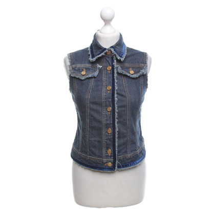 Rena Lange Denim vest in blauw