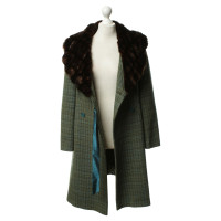 Tara Jarmon Coat with faux fur