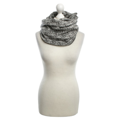 Michael Kors Scarf in black / white