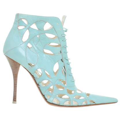 Gianmarco Lorenzi High heels in turquoise