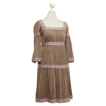 Missoni Dress in Brown / Nude