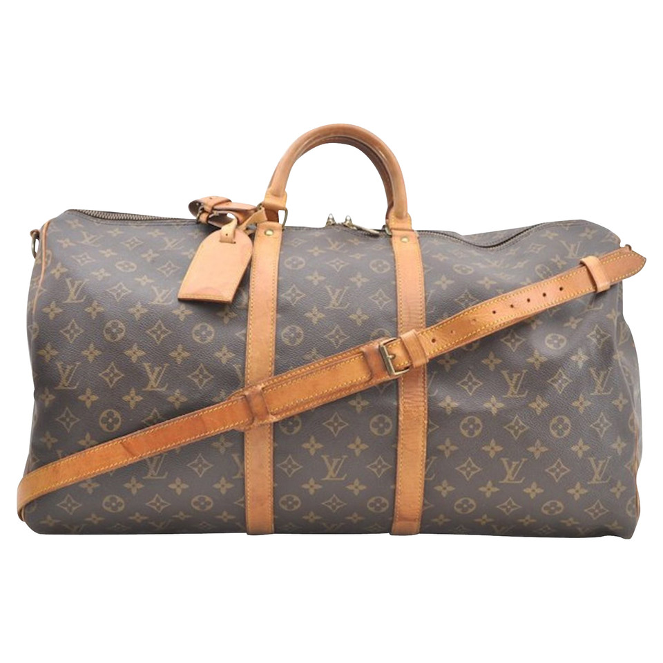 louis vuitton keepall 55 monogram canvas inkl. Black Bedroom Furniture Sets. Home Design Ideas
