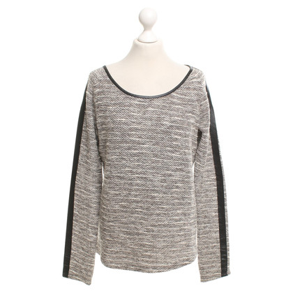 Maison Scotch Knitted sweater with fancy yarn