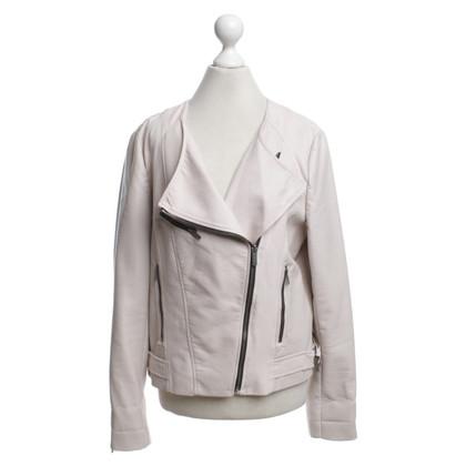 Calvin Klein biker jacket in Beige