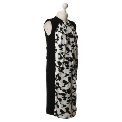 Balenciaga Dress in black and white with patterns