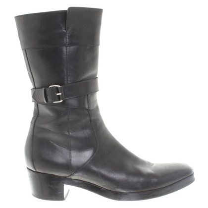 Balenciaga Stiefel aus Leder