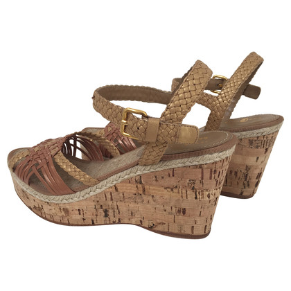 Car Shoe Cork heel wedges