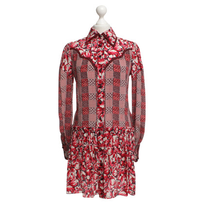 Anna Sui Dress with pattern mix