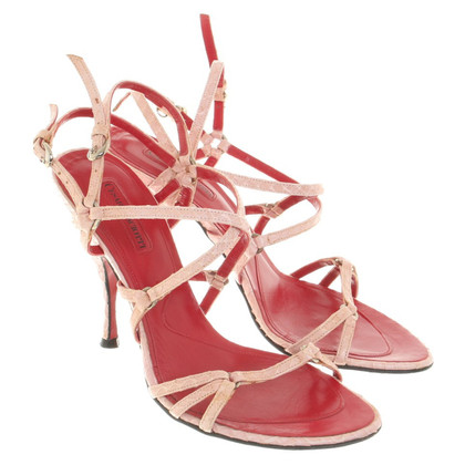 Cesare Paciotti Sandals from reptile leather