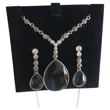 Swarovski Necklace & earrings